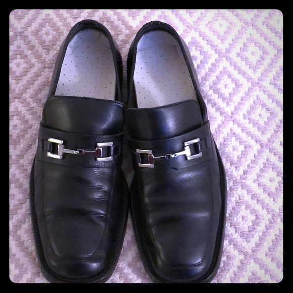 dfdf38dcd40c Gucci Shoes | Auth Mens Leather Loafer With Horse Bit | Poshmark